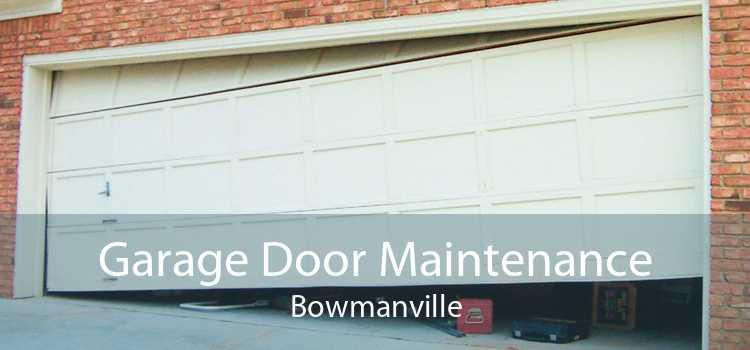 Garage Door Maintenance Bowmanville