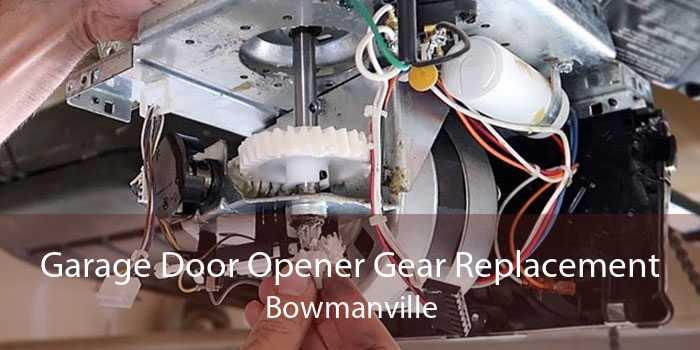 Garage Door Opener Gear Replacement Bowmanville