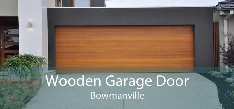 Wooden Garage Door Bowmanville